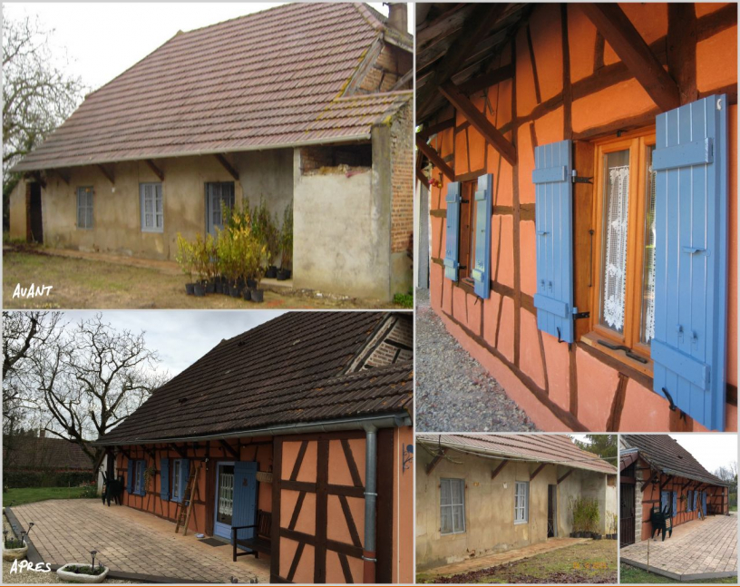 Avant / après rénovation façade