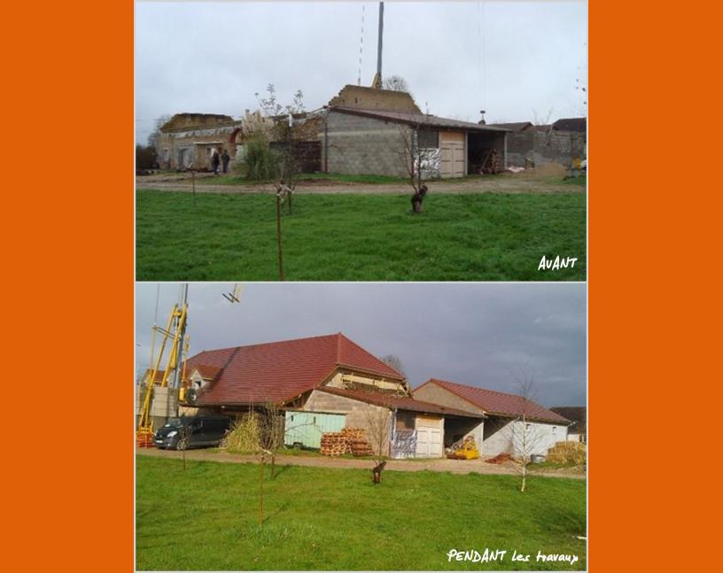 Rénovation de maison avant / après